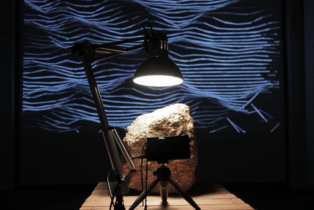 video, sound installation by Guillermo Moreno Mirallas