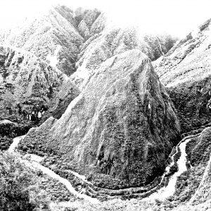 black and white photography landscape artist Guillermo Moreno Mirallas