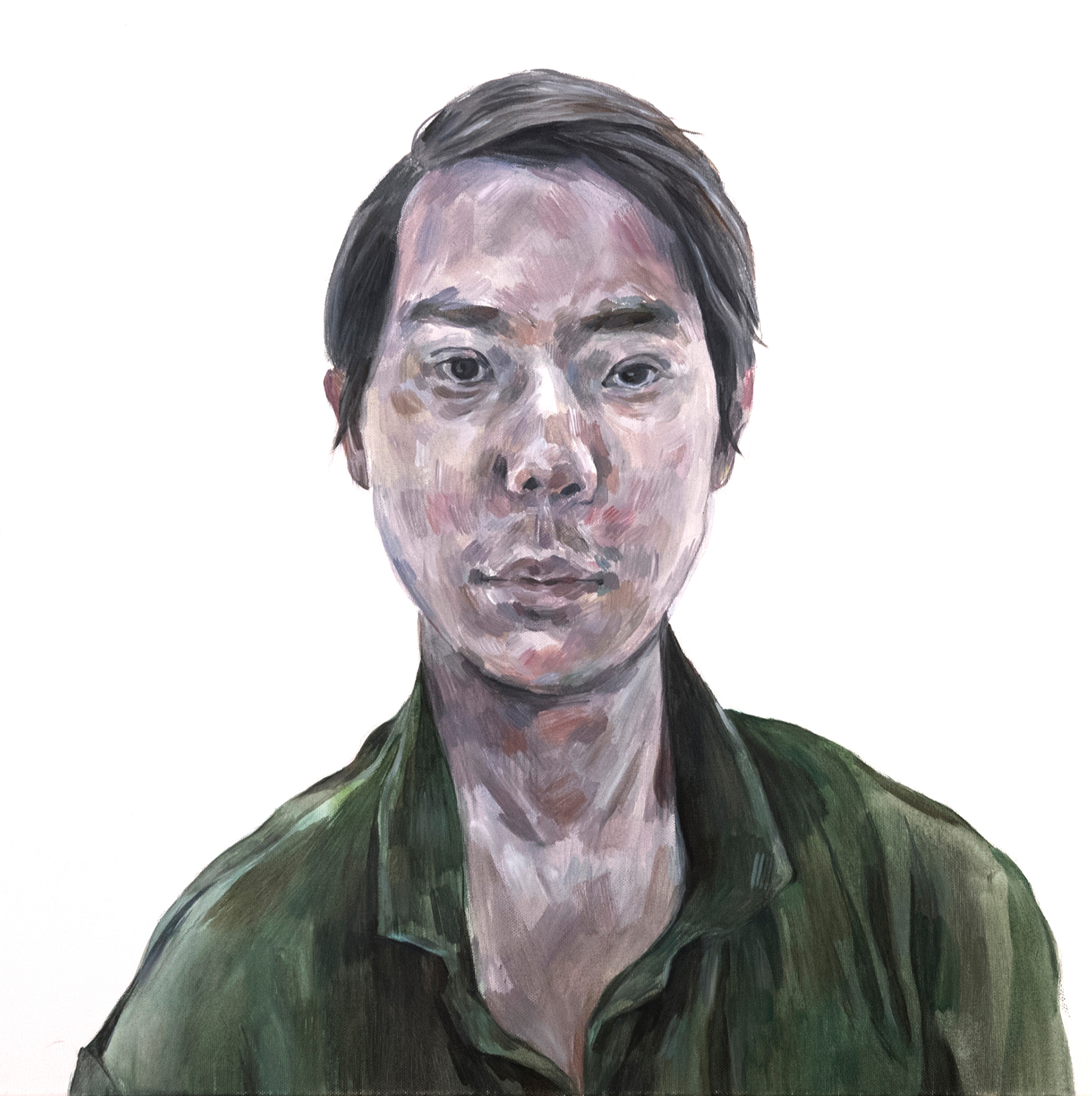 Ji-Yeon Kim painting Chen Tinder Project