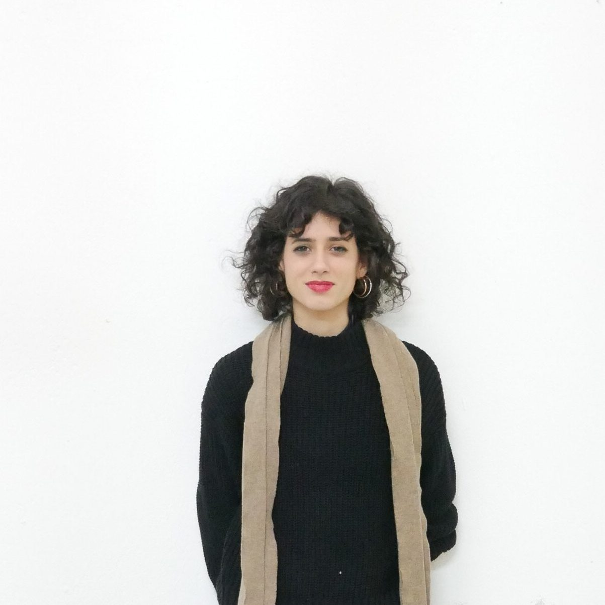 Team Photo of Julia Donate, head of visual communication for GlogauAIR Art Space and Residency Berlin