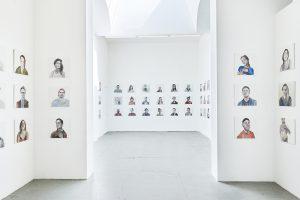 Ji-yeon Kim 100 PORTRAITS OF TINDER PROJECT