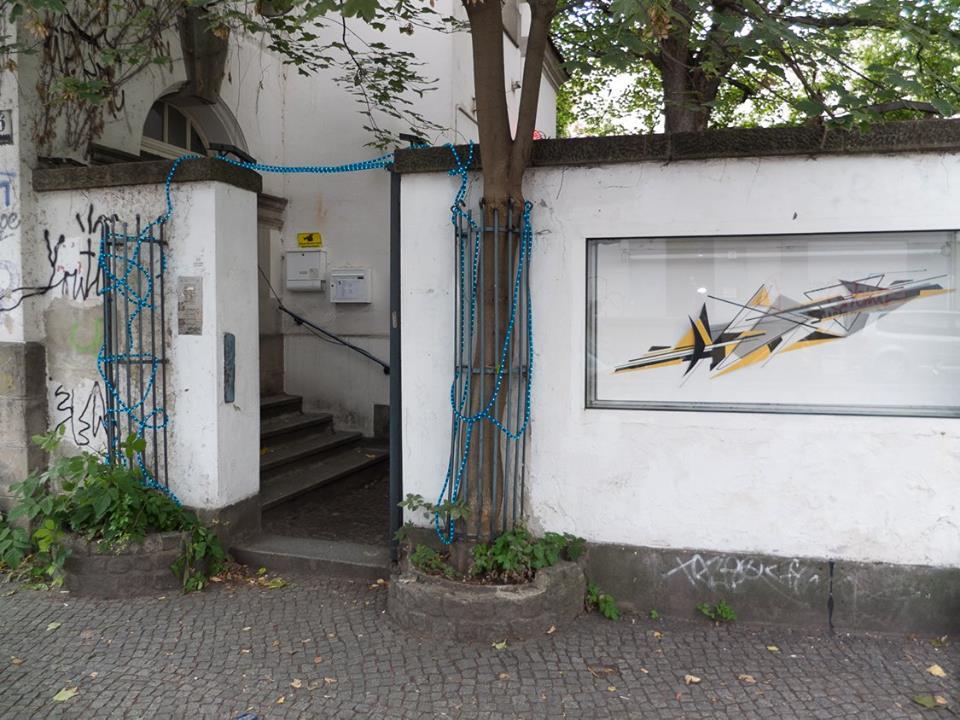 showcase for art in Kreuzberg Berlin, part of the GloguaAIR art residency activities in Berlin