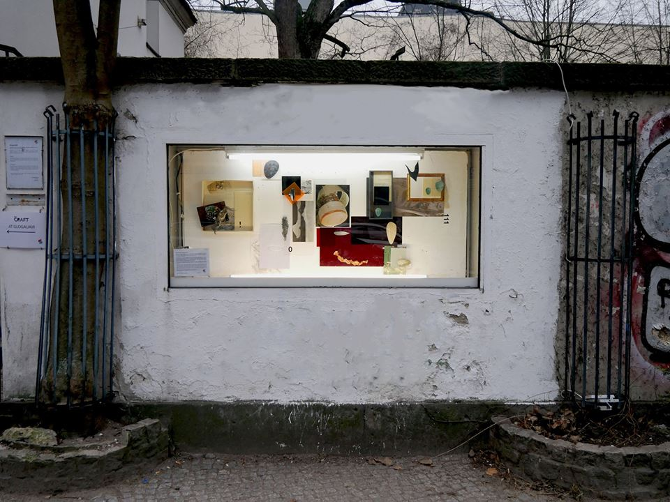 Artist Bohyeon Kim exhibits work in the Showcase Gallery outside of GlogauAIR Berlin
