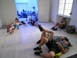 Performance workshop at GlogauAIR in Kreuzberg Berlin