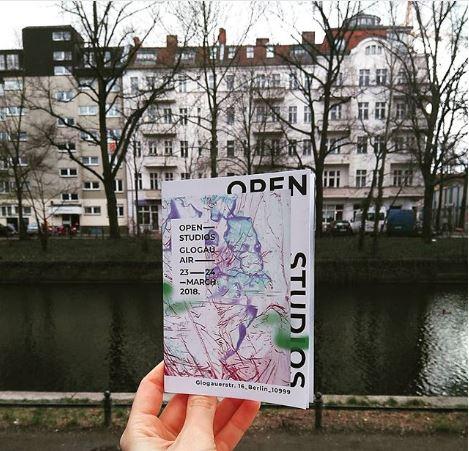 GlogauAIR Kreuzberg Neukölln Open Studios Catalogue March 2018
