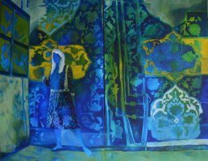 Acrylic on Canvas 160.120cm, 2016, by Anahita Ghazanfari
