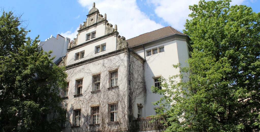 historic Kreuzberg building that is now an art residency in Berlin
