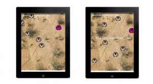 South of the Border, Video Game designed for iOS devices, 2013 by Carlos Franco