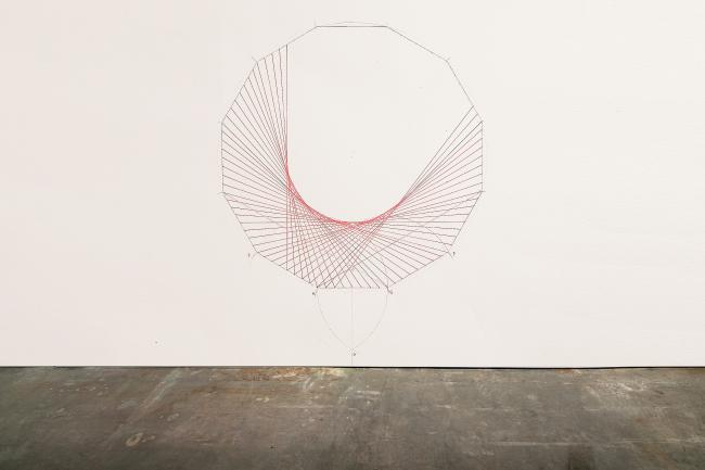 Closed Order PROJECT: THE ORDER / Closed Order, Marker on Wall, 250×200 cm; 100 cm, 2013 by Chen Wei