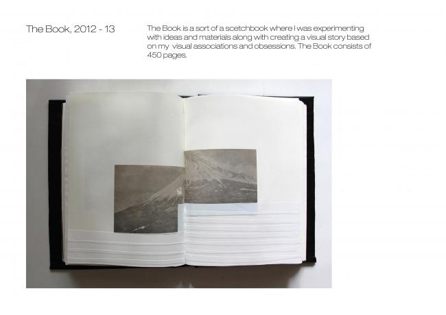 The Book, 2013 Art book 24 x 30 cm, 450 pages by Ewa Kubiak