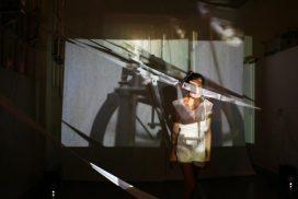 work by Taiwanese artist Jia-Jen Lin at GlogauAIR art residency in Kreuzberg Berlin, 2017