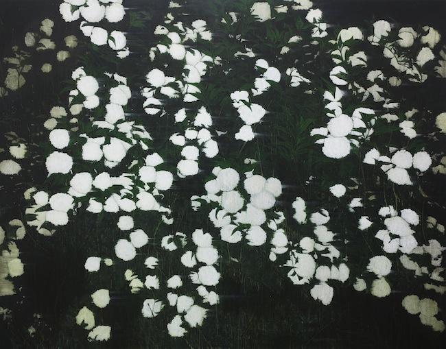 Flower night 180 x 230 cm, acrylic on canvas, 2014
