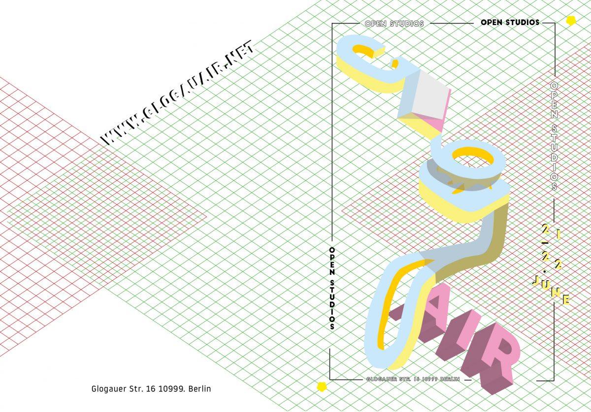 art exhibition in Berlin and open studios at GlogauAIR art residency Berlin in Kreuzberg