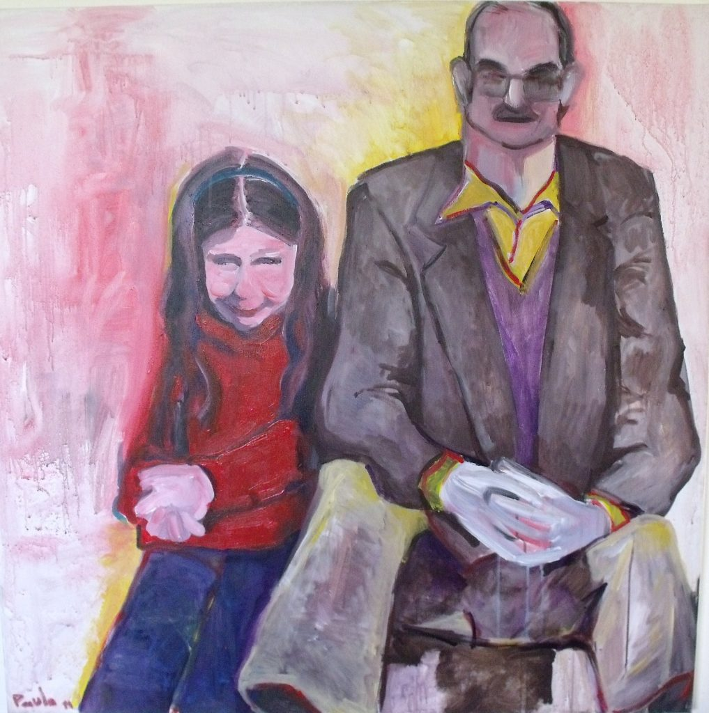 Dad-and-me100x100cm
