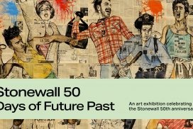 Exhibition Stonewall 50 Years of Future Past, Film Screening Night Banner Image at GlogauAIR