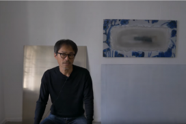 Jun Homma, resident artist at GlogauAIR art residency Berlin, Kreuzberg, sprin 2019, artist interview, Japanese artist