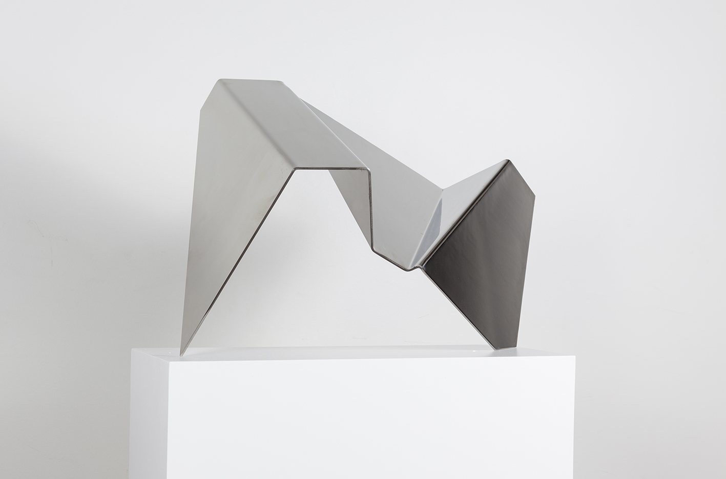 Photograph of abstract sculpture by artist Alejandro Urri