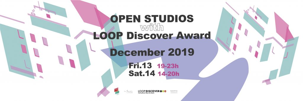 Open Studios December 2019 with LOOP Discover video art awards from Barcelona
