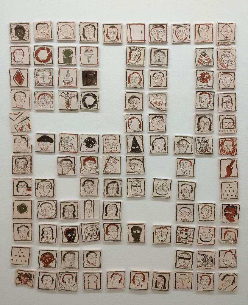 Daniel-Dobarco-La-historia-del-asombro-ceramics-150-x-130-cm-2018
