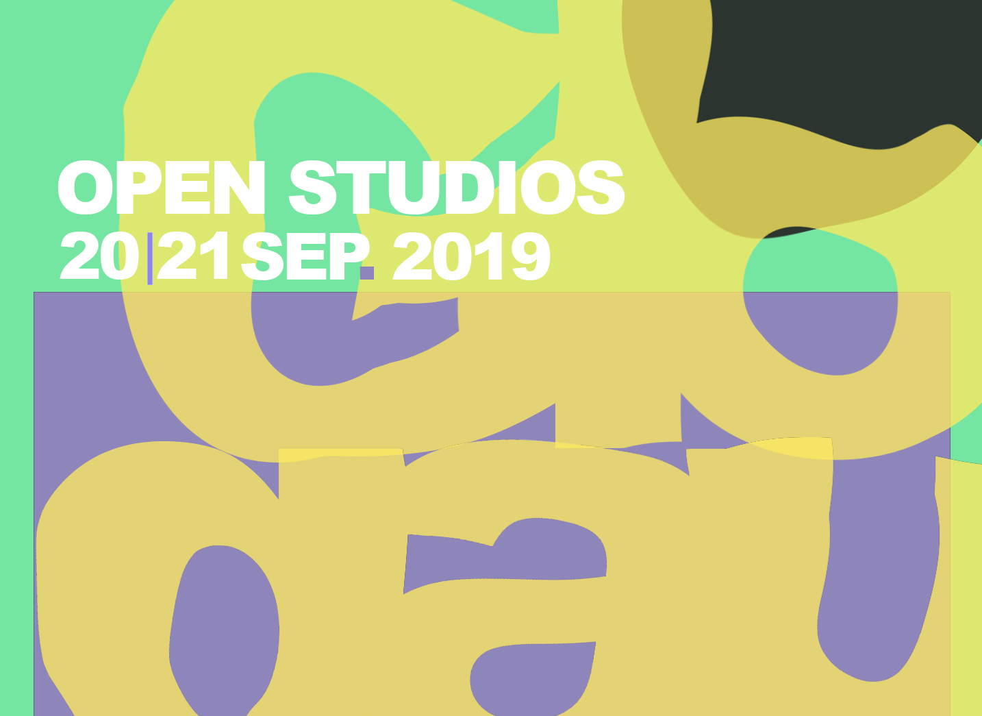2019_Open Studios Cover- September 2019_01