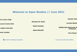2021_Virtual Open Studios June 2021 langing image