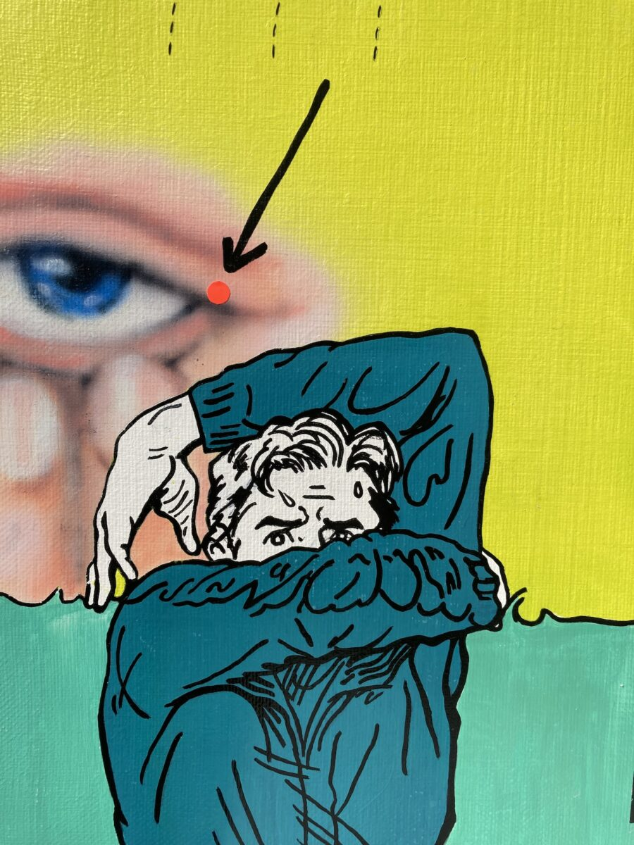 2021_Chae Won_Virtual_Untitled(Cover yourself till no one notice)_detail