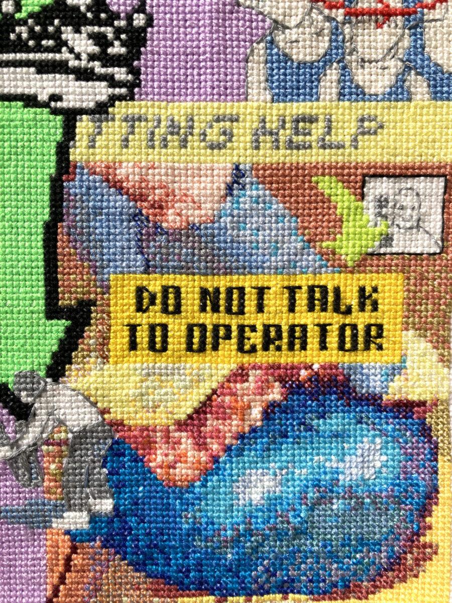 2021_Chae Won_Virtual_Untitled(Operation Caution)_detail2