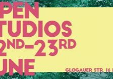 GlogauAIR Open Studios June 2018