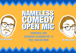 Nameless Comedy Open Mic #26 - Season 2 Premiere at GlogauAIR