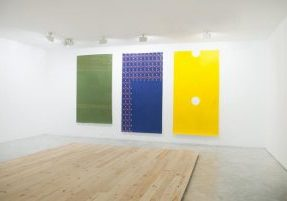 Holismos (Carpets, Wood Floor) Installation 2016 by Fuentesal & Arenillas