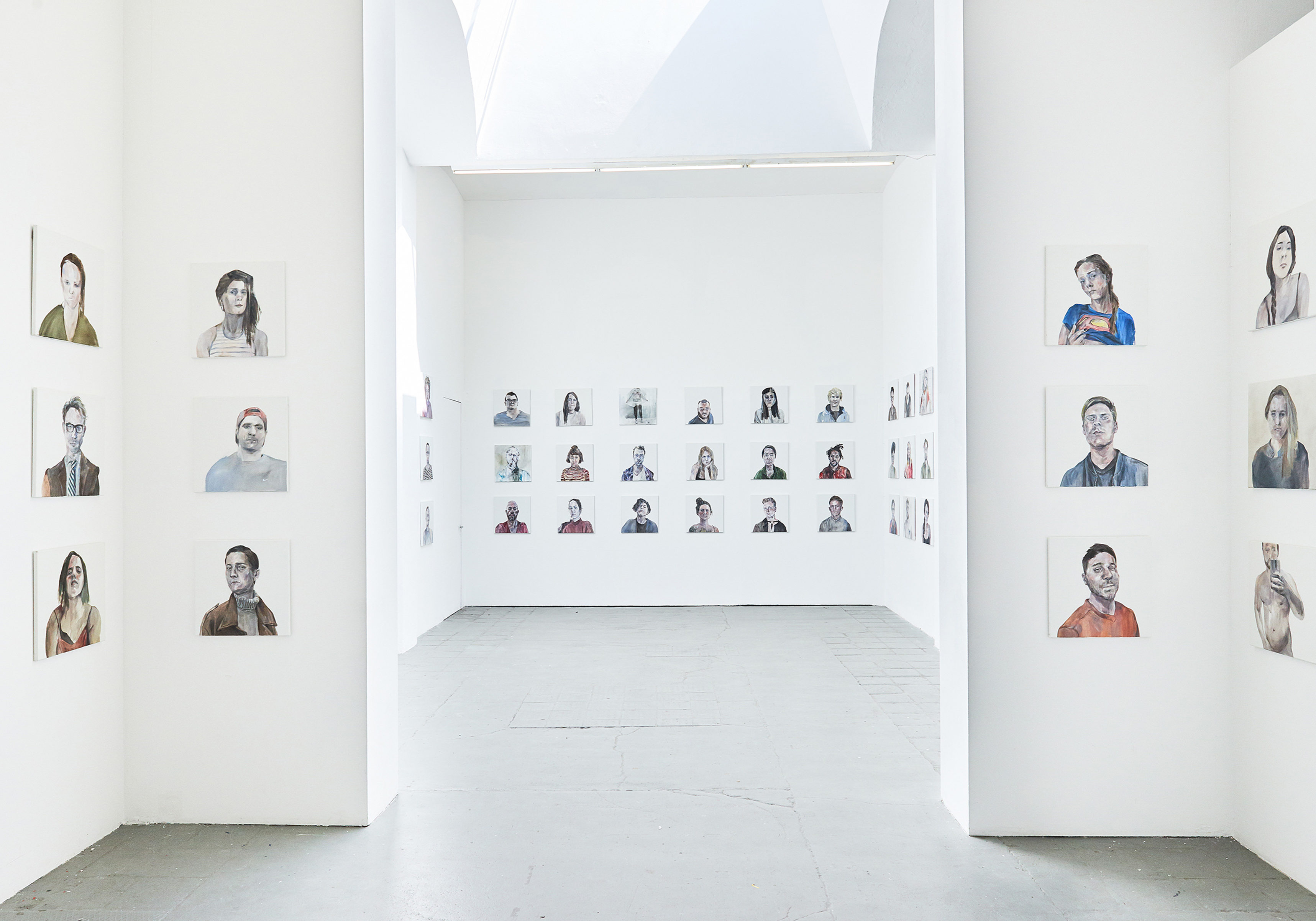 Ji-yeon Kim 100 PORTRAITS OF TINDER PROJECT