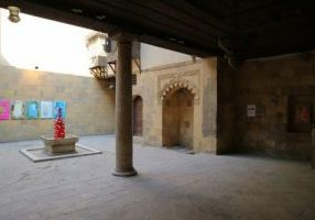 Soji Shimuzu artist exhibition at Bayt Al-Sinnari, Cairo, Egypt